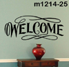 2 foot decorative sign - WELCOME 3580