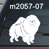 Chow Chow dog decal
