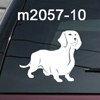 Dachshund Weiner dog decal